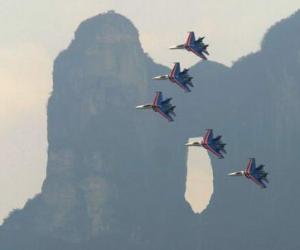 В горах Тяньмэньшань Чжанцзяцзе состоятся