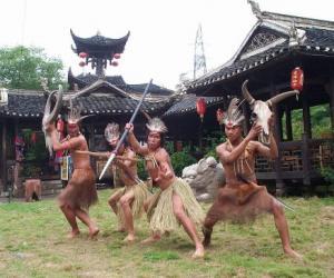 Двор со стилью нации Туцян