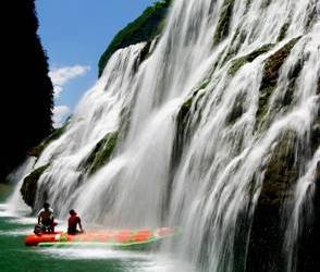 Маояньхэ-Рафтинг по реке